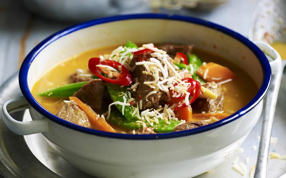 Spicy Thai Beef Curry Recipes — Dishmaps