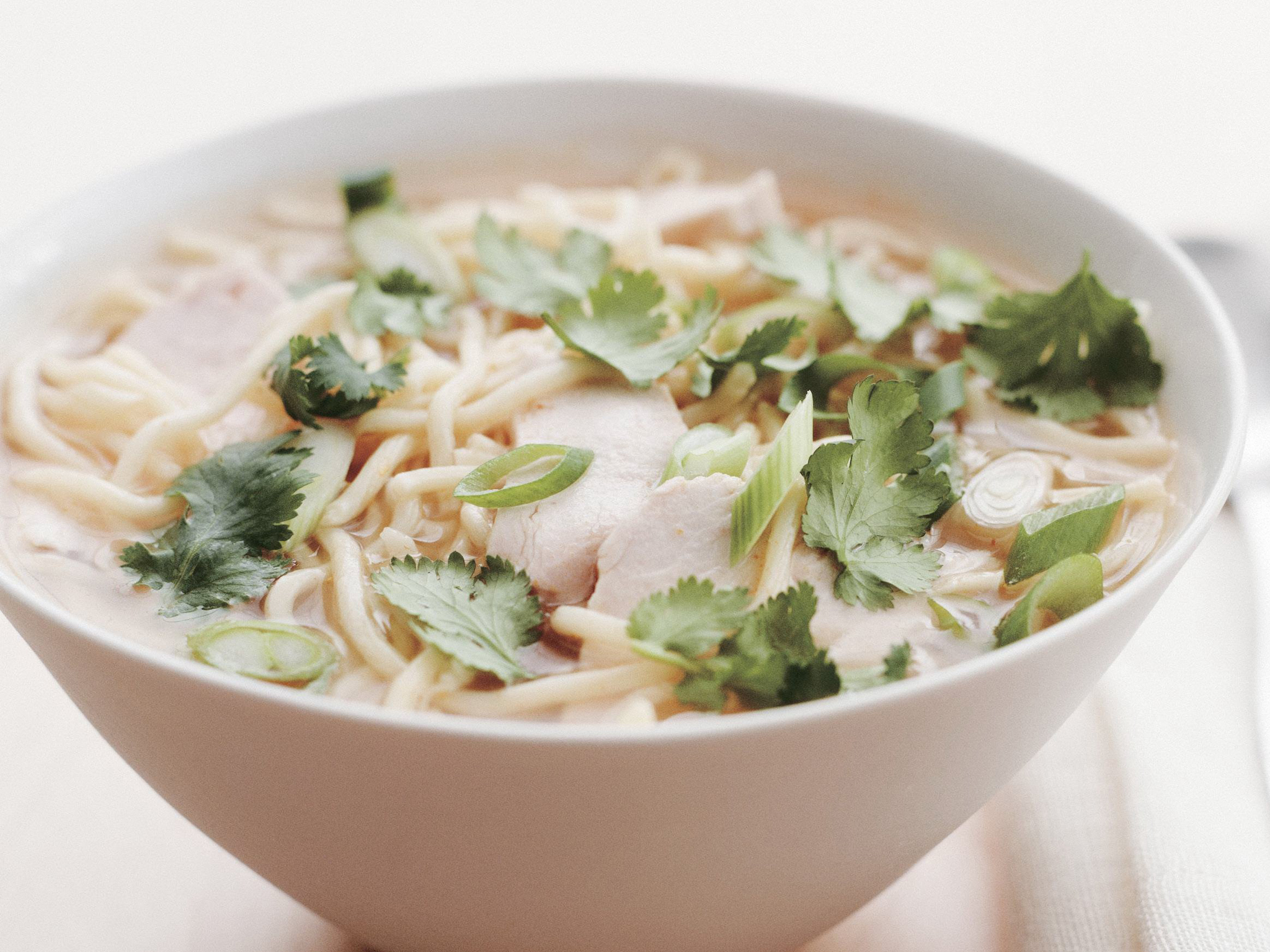 Slow Cooker Thai Chicken Soup  foodiecrushcom