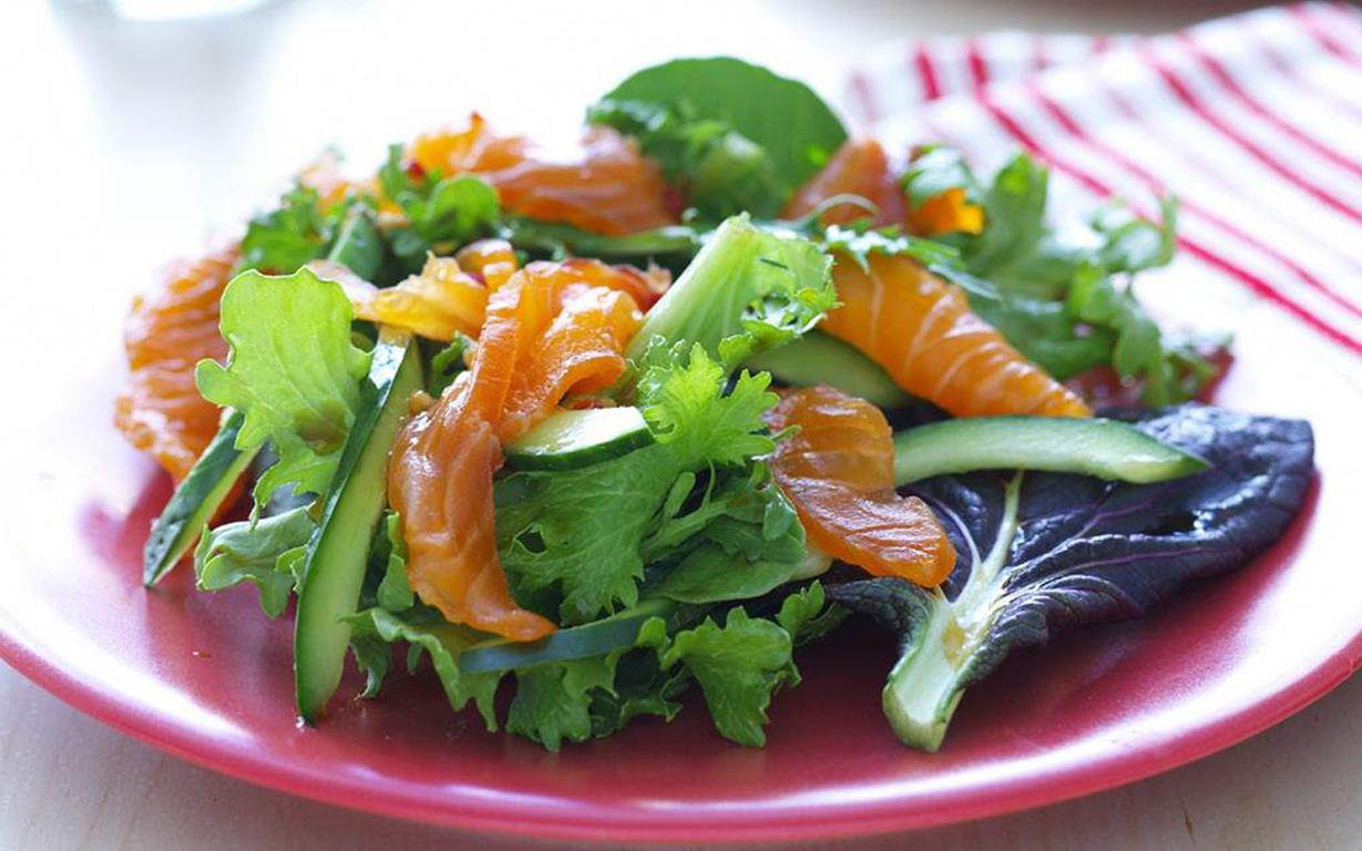 Cured salmon salad recipe | FOOD TO LOVE