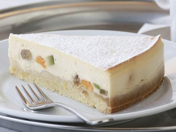 Baked Italian ricotta cheesecake