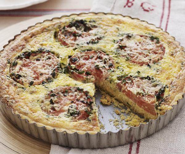 Tomato and basil quiche recipe | Food To Love