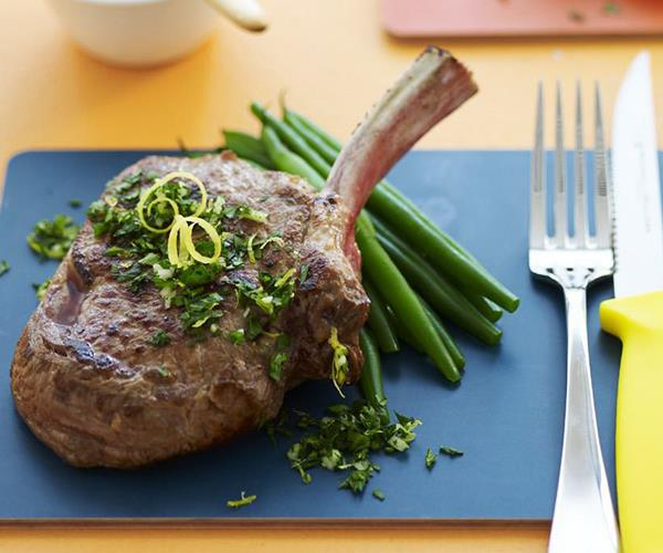 Veal chops with gremolata recipe | Food To Love