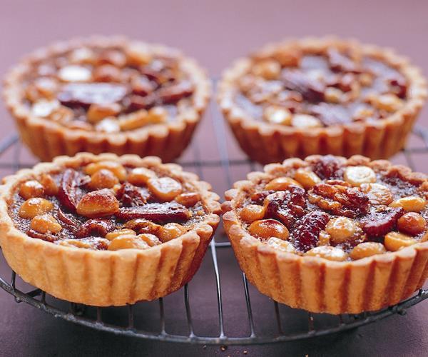 Pecan, macadamia and walnut tartlets recipe | Food To Love