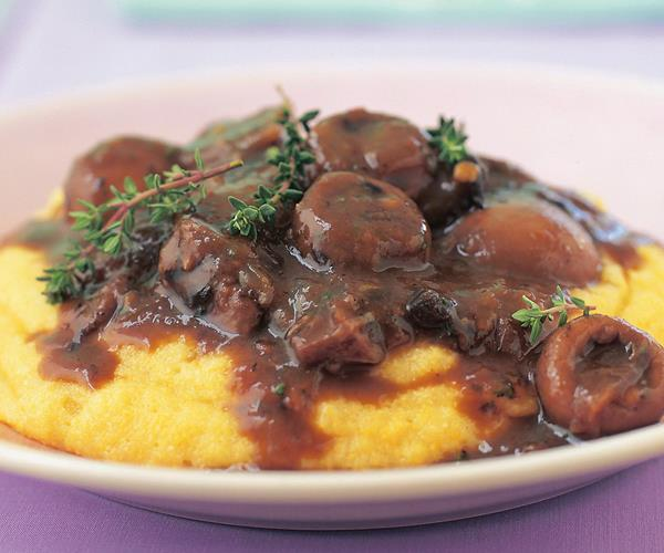 Mixed mushroom ragu with polenta recipe | Food To Love