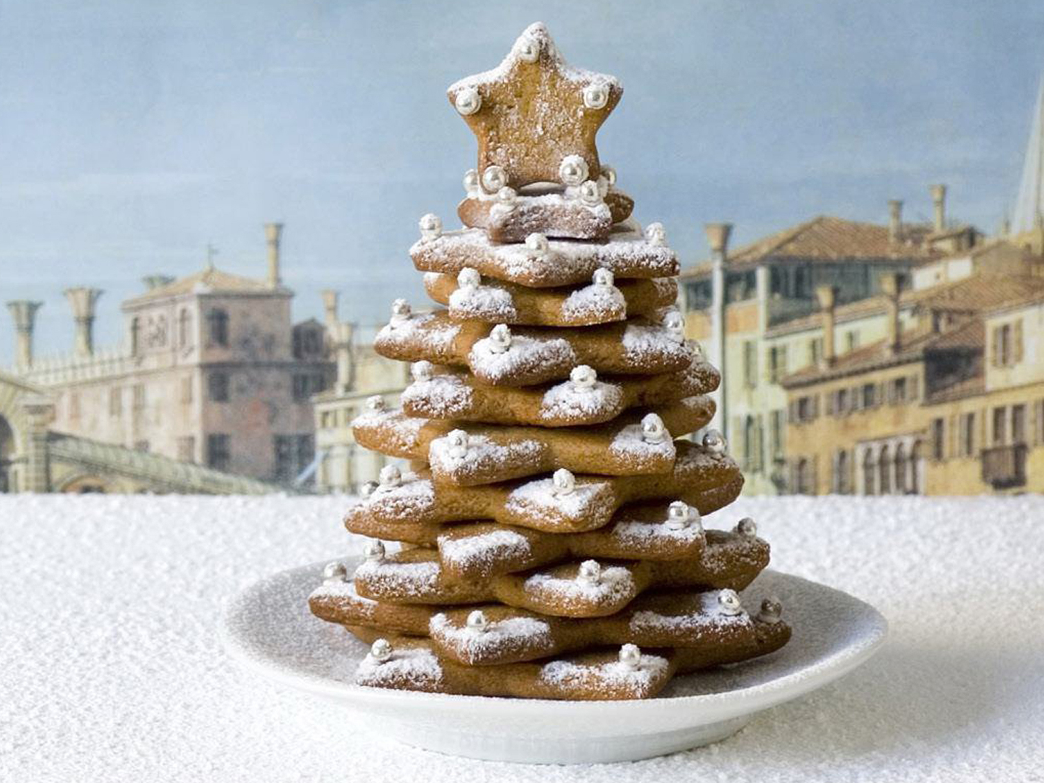 gingerbread christmas trees recipe food to love - Gingerbread Christmas Tree