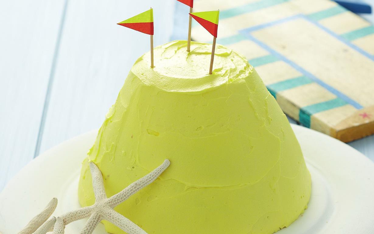 Sand Castle Birthday Cake Recipe Food To Love