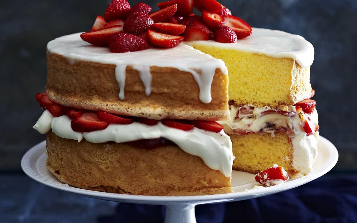 Sponge Cake Recipe No Jam