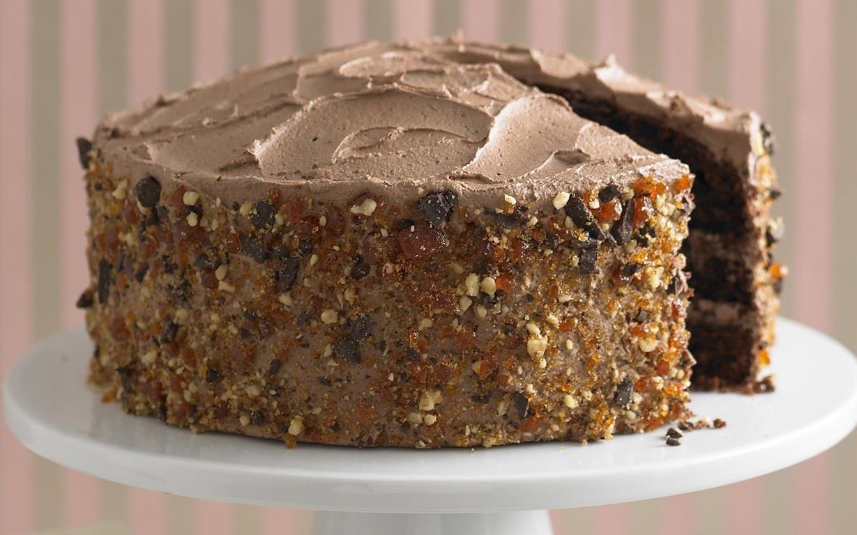 Chocolate Chiffon Cake Recipe Food Network
