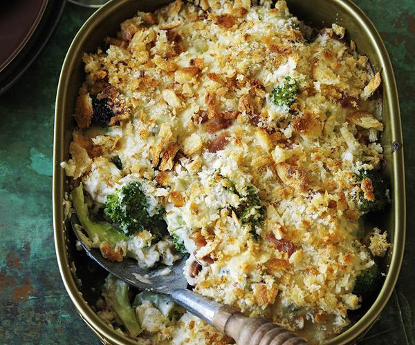 Broccoli, pancetta and blue cheese gratin recipe | Food To Love