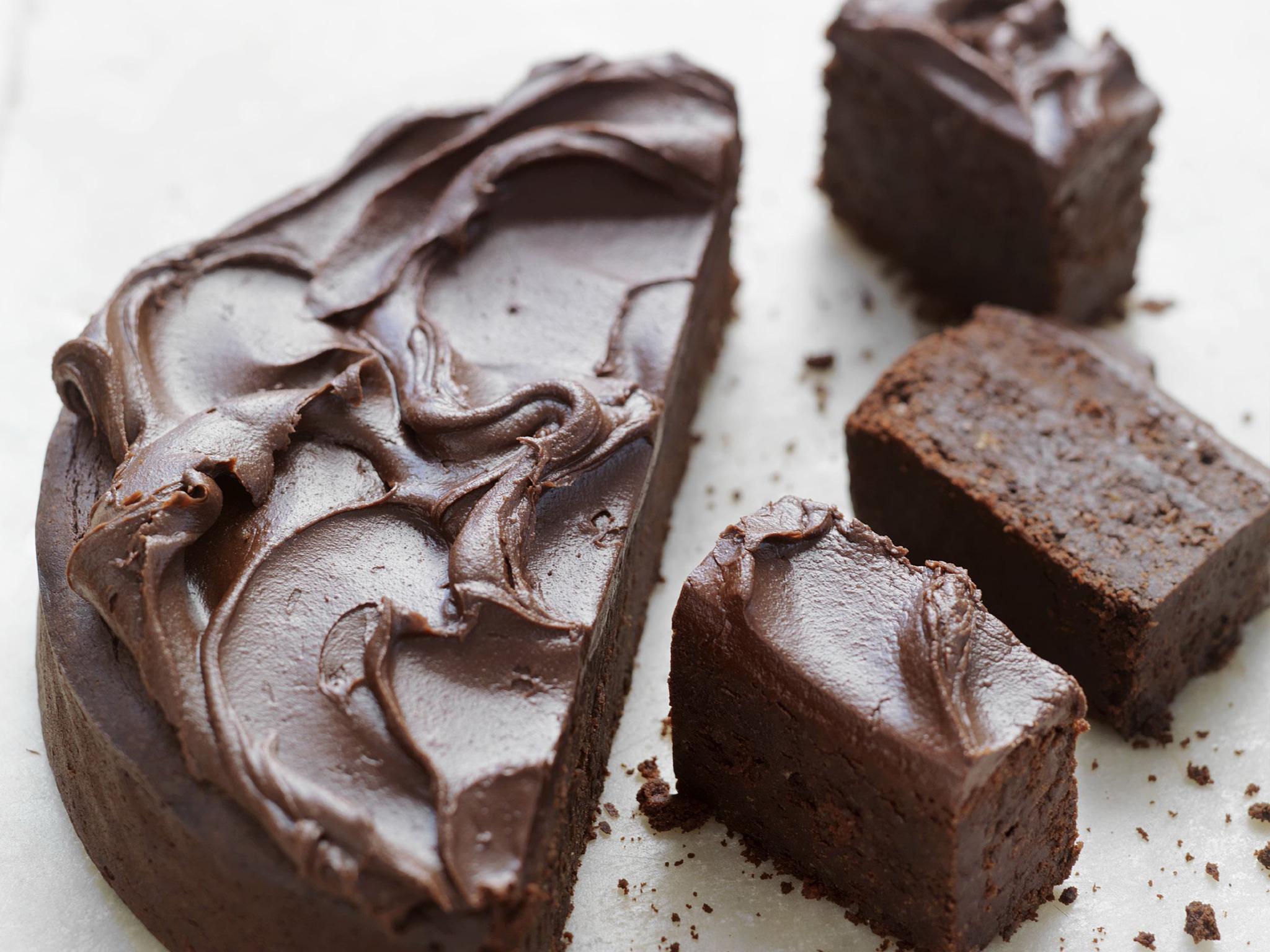 Simple hazelnut mud cake recipe