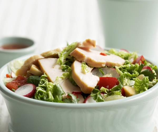 ... cabbage, brazil nut and smoked chicken salad recipe | Food To Love