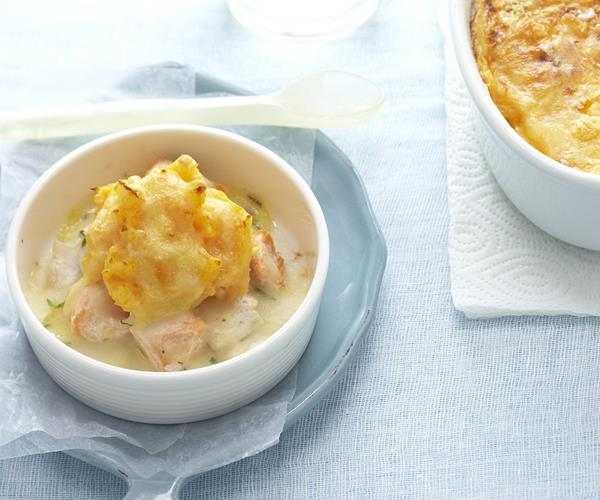 Fish pot pies recipe food to love for Fish pot pie