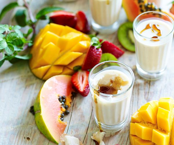 Buttermilk panna cotta with summer fruits recipe | Food To ...