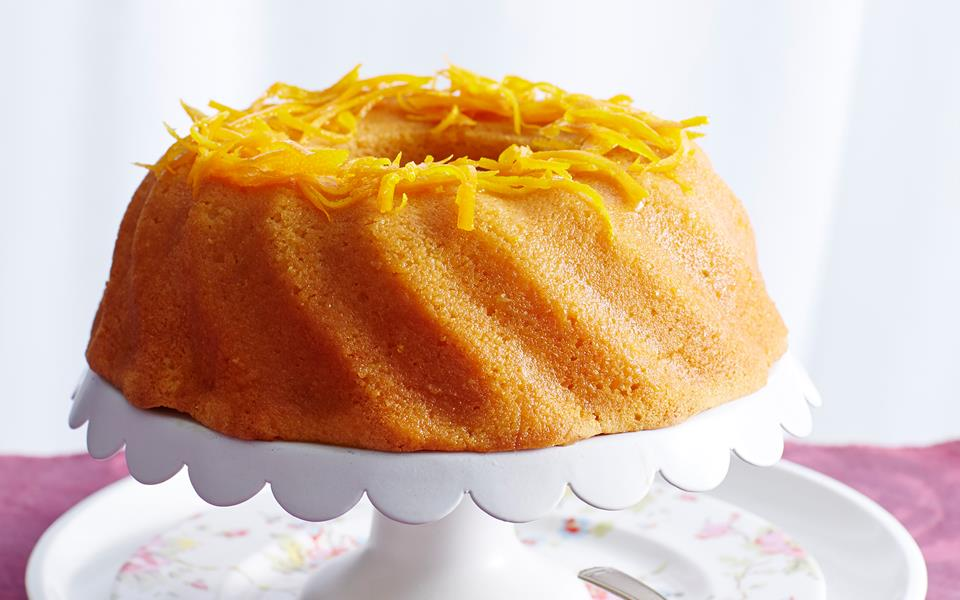Orange Syrup Cake Women