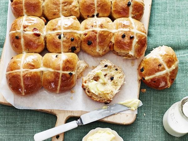 Best-ever hot cross buns