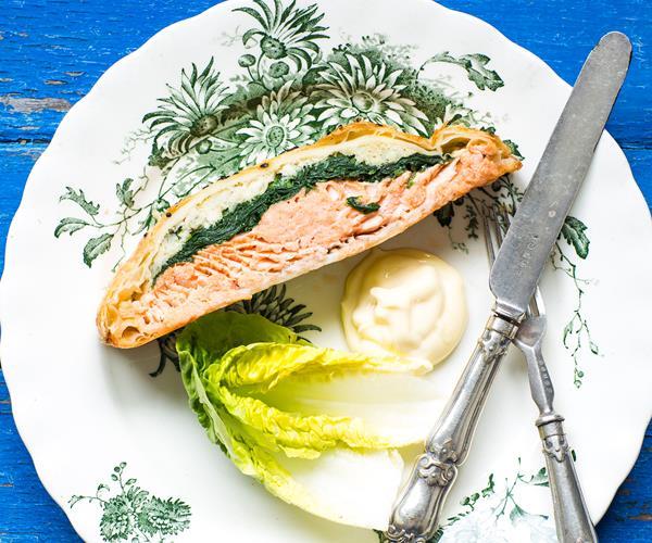 how to make salmon wellington