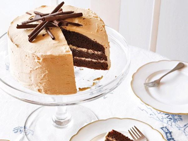 Mochaccino layer cake