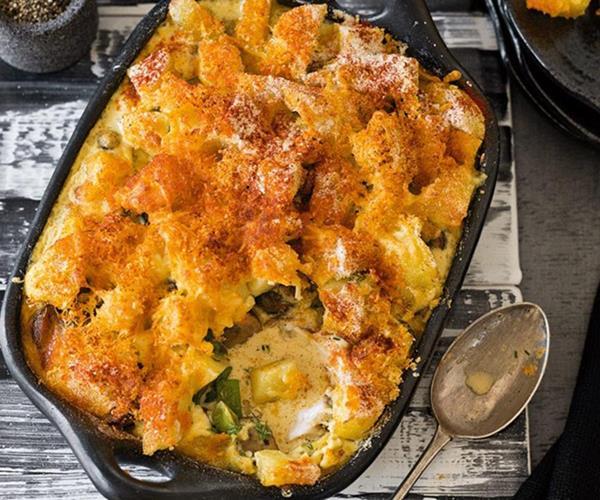 Russian style potato and fish casserole recipe food to love for Fish casserole recipes