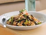 Chicken, chilli and kaffir lime stir-fry