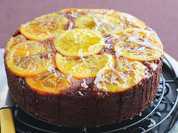 Chocolate orange polenta cake