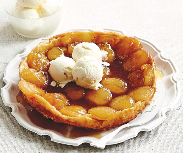 Apple tart with caramel ice-cream recipe | Food To Love