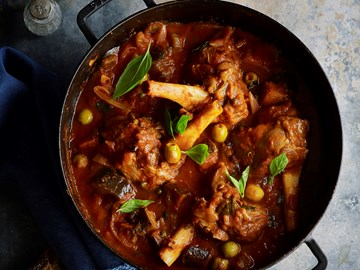 Baked Beef and Eggplant Tagine