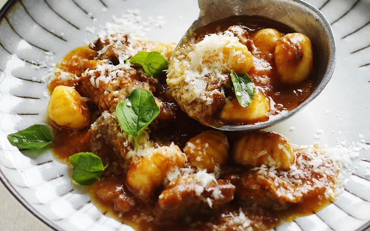 Lamb Stew Recipe Oregano Lamb Stew With Gnocchi Recipe Food To Love