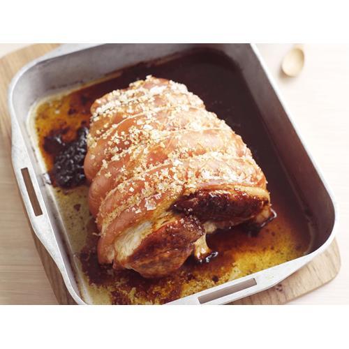 how to make a pork roast with crackling