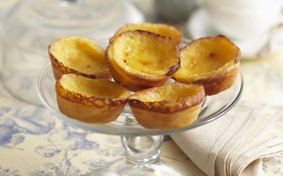 Portuguese custard tarts recipe | FOOD TO LOVE