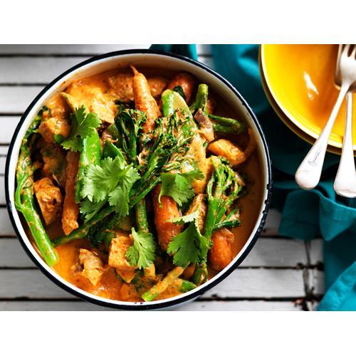 Red tofu curry recipe | Food To Love