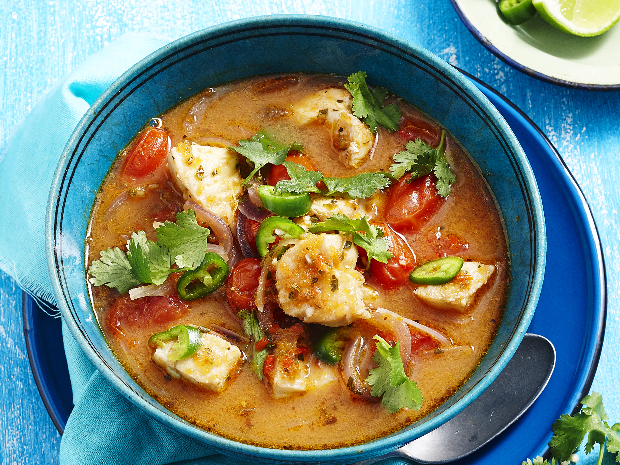 Spicy mexican food images galleries for Mexican fish soup recipe