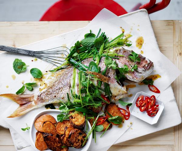 how to cook whole snapper nz