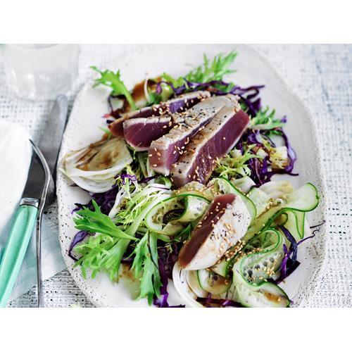how to make tuna carpaccio