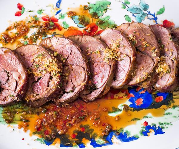 Lamb leg roast with citrus herb crust recipe   Food To Love