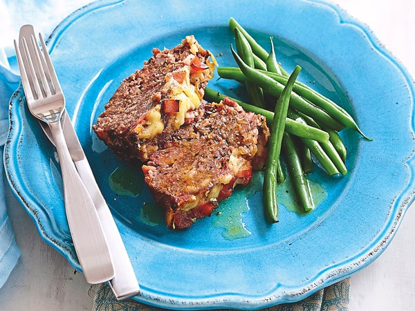 Roll-along meatloaf