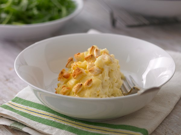 Crock-pot macaroni cheese