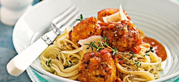 Lemon & herb chicken meatballs