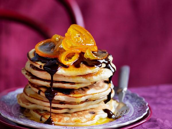 Julie Goodwin's jaffa pancakes