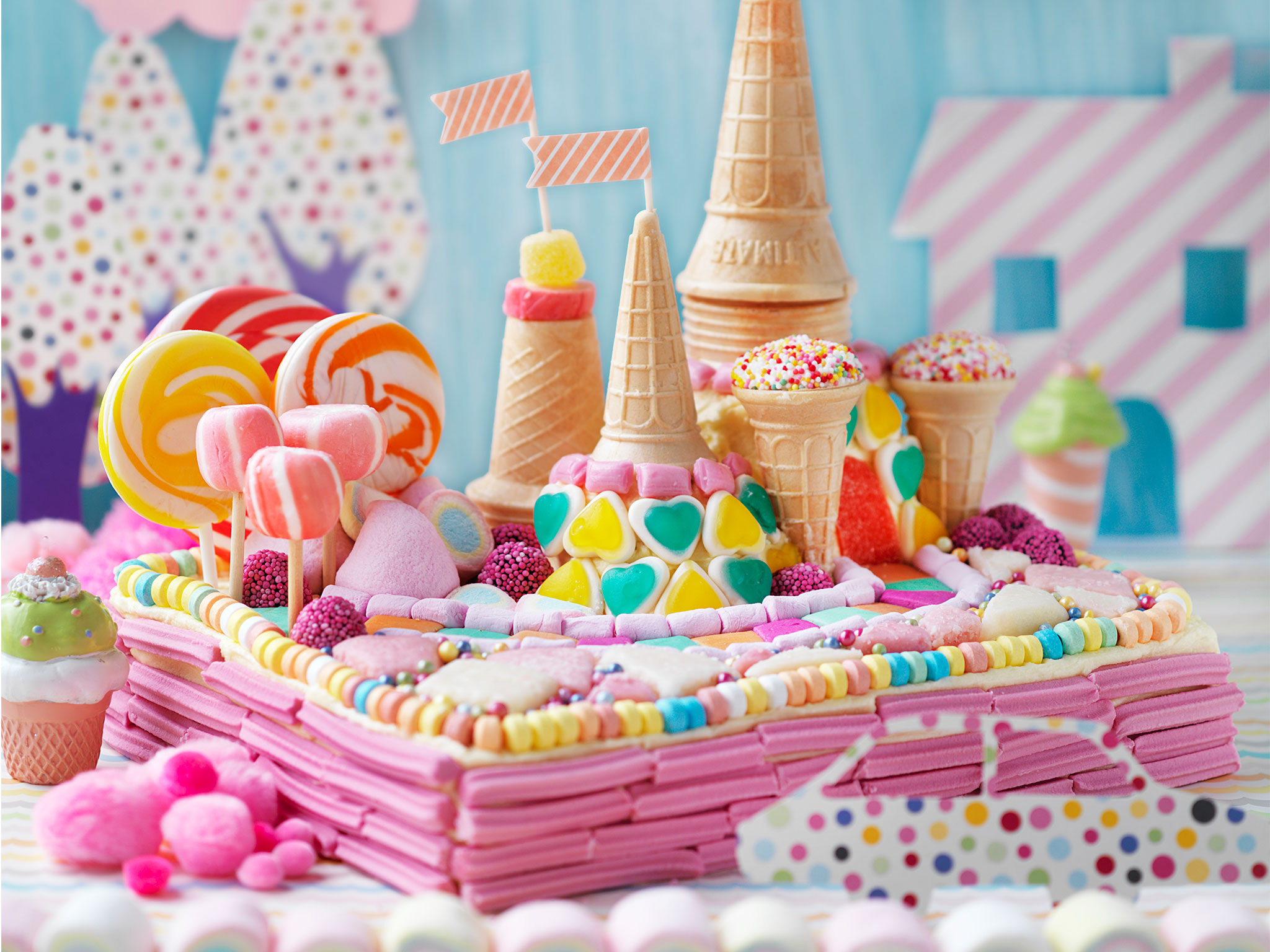 Candy Land Cake Recipe Food To Love