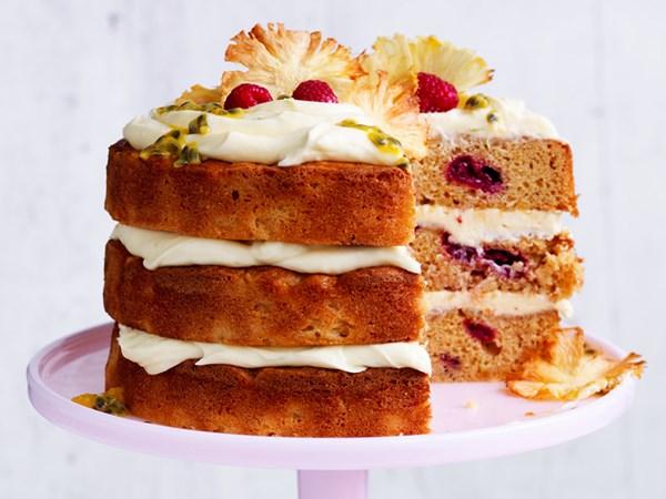 Summertime layer cake