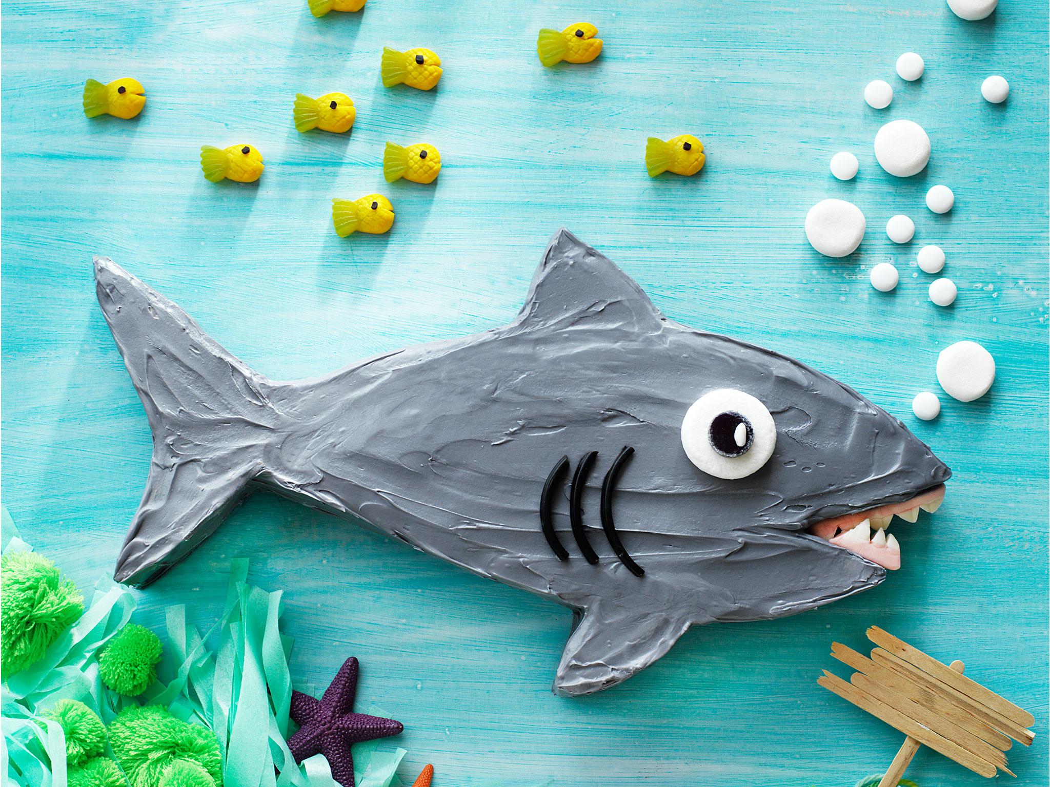 Sammy the shark cake recipe | Food To Love