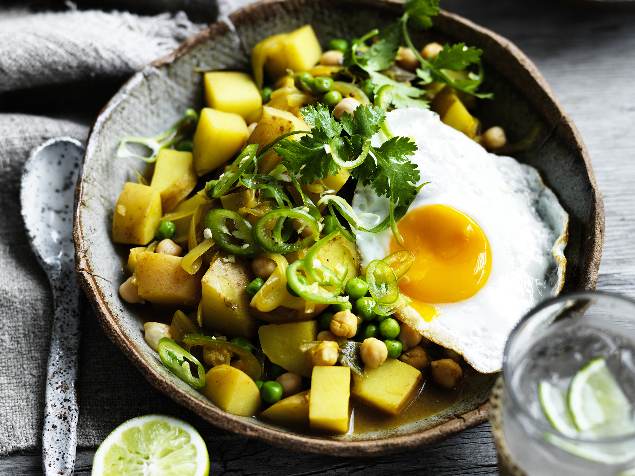 Sri lankan potato and pea curry recipe food to love forumfinder Images