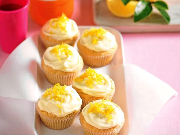 Gluten-free lemon cupcakes