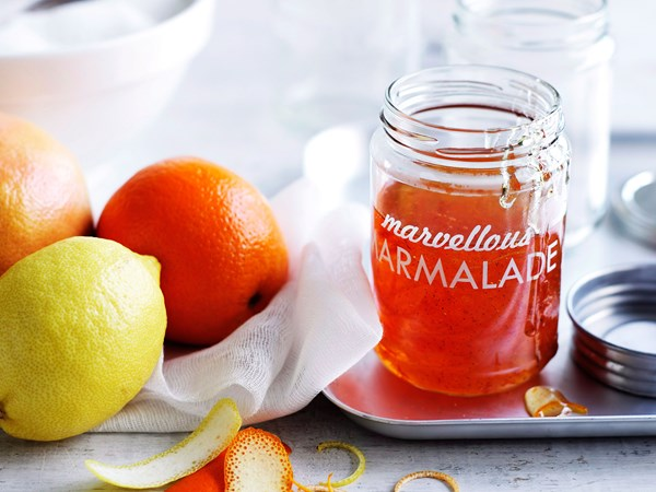 Orange and grapefruit marmalade