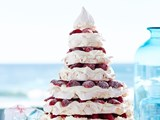 Julie Goodwin's meringue christmas tree