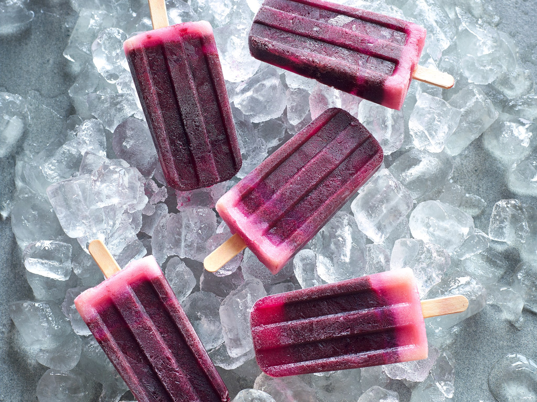 These [blueberry lemon ice blocks](http://www.foodtolove.co.nz/recipes/blueberry-lemon-ice-blocks-21695) not only look and taste amazing but are also really good for you; the vitamin C and antioxidants from the blueberries and lemon juice will help keep your immune system charging so you can enjoy your summer adventures.