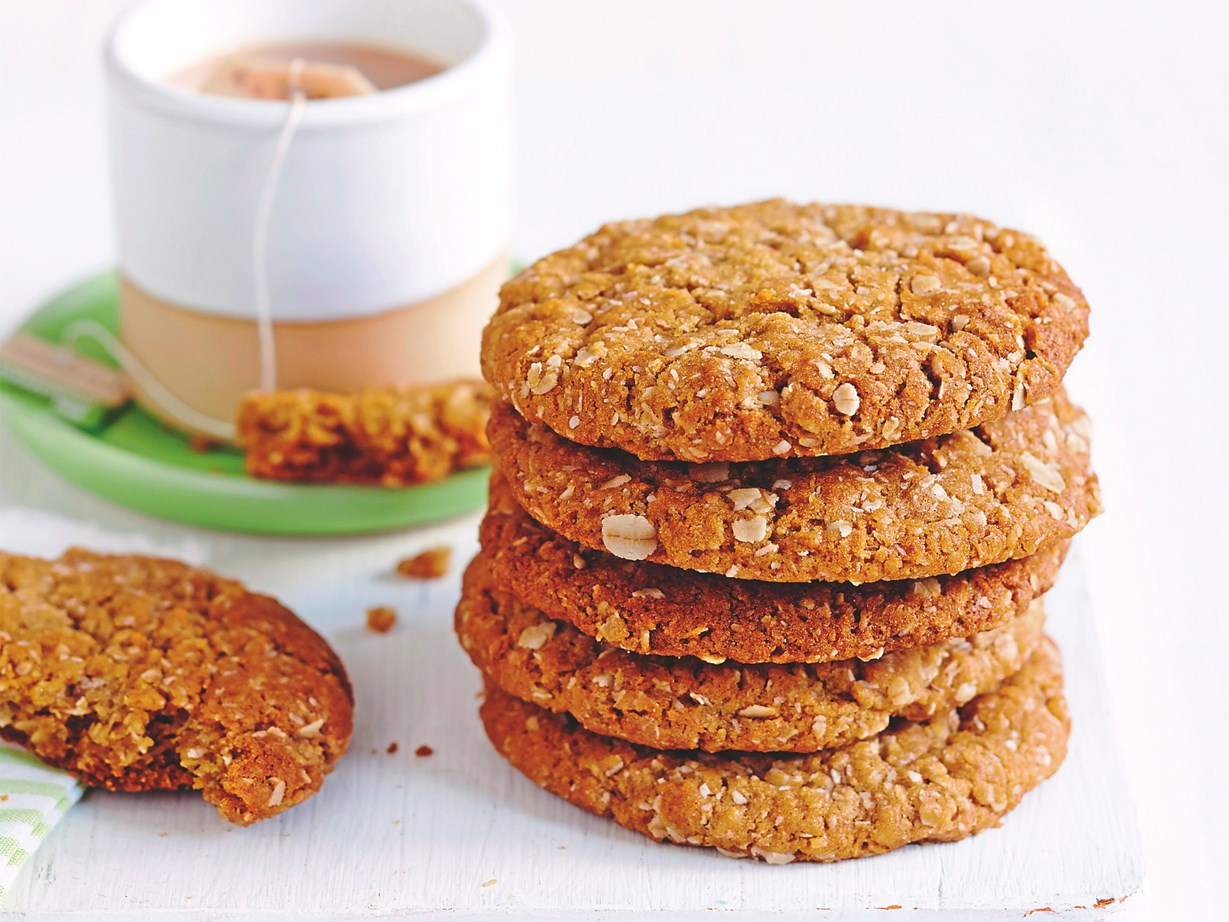 "[Try this classic ANZAC biscuit recipe.](http://www.foodtolove.co.nz/recipes/anzac-biscuits-16781|target=""_blank"")"