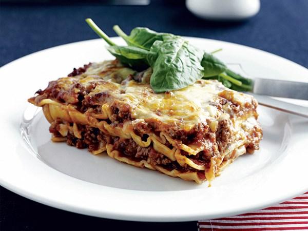 Quick lasagne