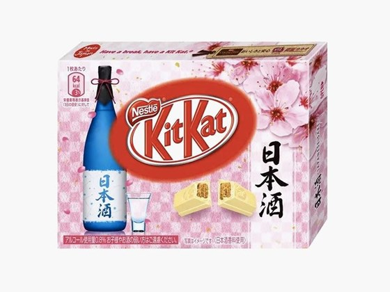 Want to know what a sake-flavoured Kit Kat tastes like?