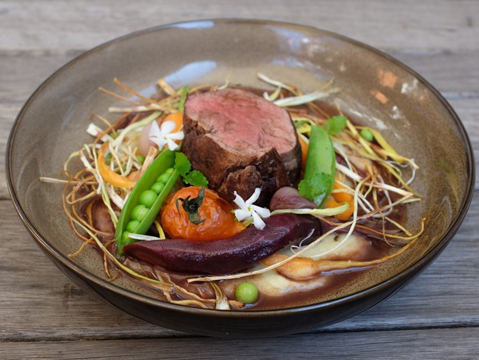 """Try Renae's **[roasted autumn vegetables with cacao beef recipe.](http://www.foodtolove.co.nz/recipes/roasted-autumn-vegetables-with-cacao-beef-22116 target=""""_blank"""")**"""